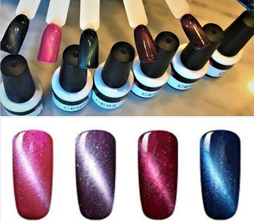 Magnetic Gel Nail Polish - Yelp