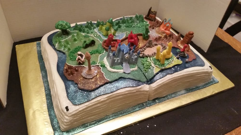 Land Of Stories Book Cake Yelp