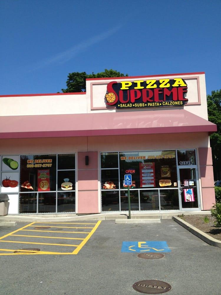 Brockton (MA) United States  city photo : Supreme Pizza Pizza 1284 S Main St, Brockton, MA, United States ...