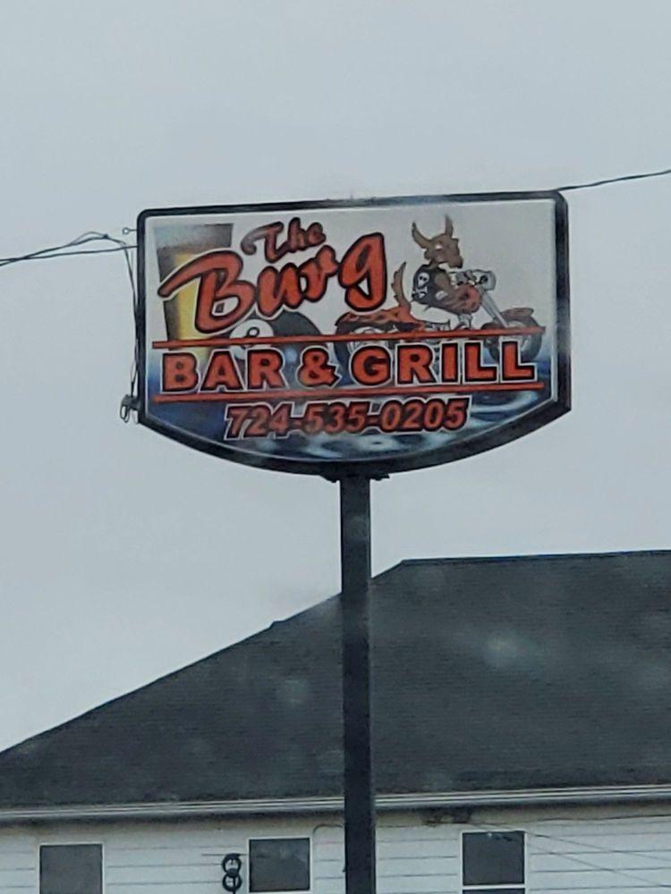 Burg Bar & Grill: 1118 11th St, West Pittsburg, PA