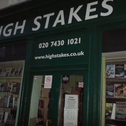 High stakes gambling bookshop how to play casino video slots