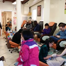 The nails spa 130 fotos 230 beitr ge nagelstudio for 24 hour nail salon atlanta