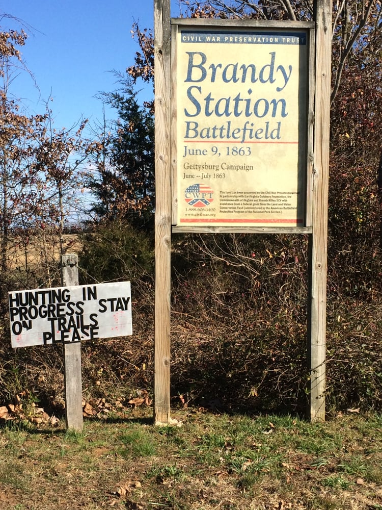 Brandy Station Battlefield, Buford's Knoll: 12279 Beverly Ford Rd, Elkwood, VA