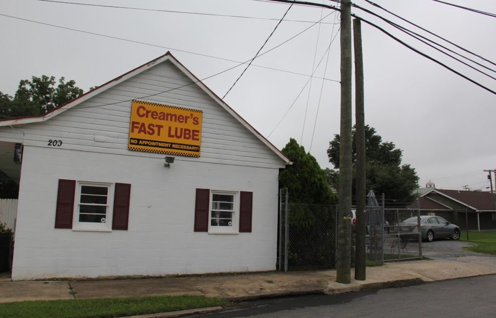 Creamer's Fast Lube # 1: 209 E North St, Charles Town, WV
