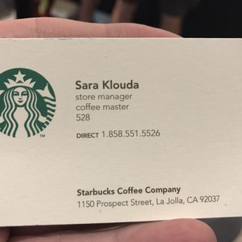 Starbucks 47 photos 74 reviews coffee tea shops for Starbucks business cards