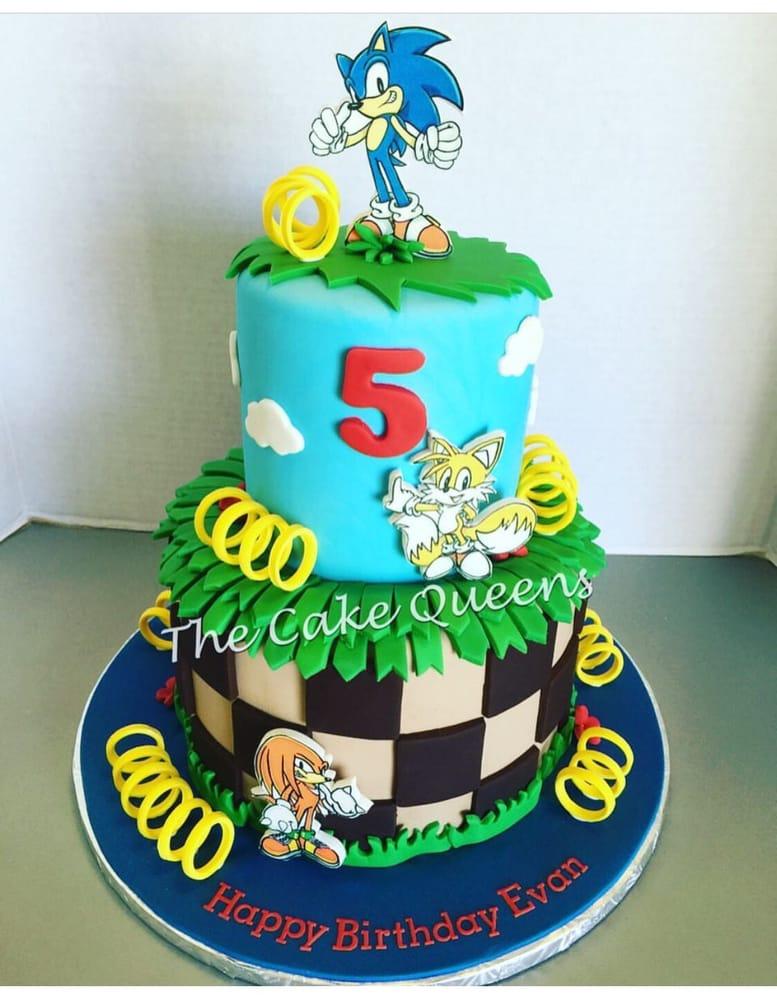 Sonic Knuckles Birthday Cake Yelp