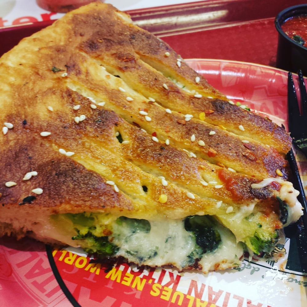 California Pizza Kitchen Glendale: Stuffed Pizza!