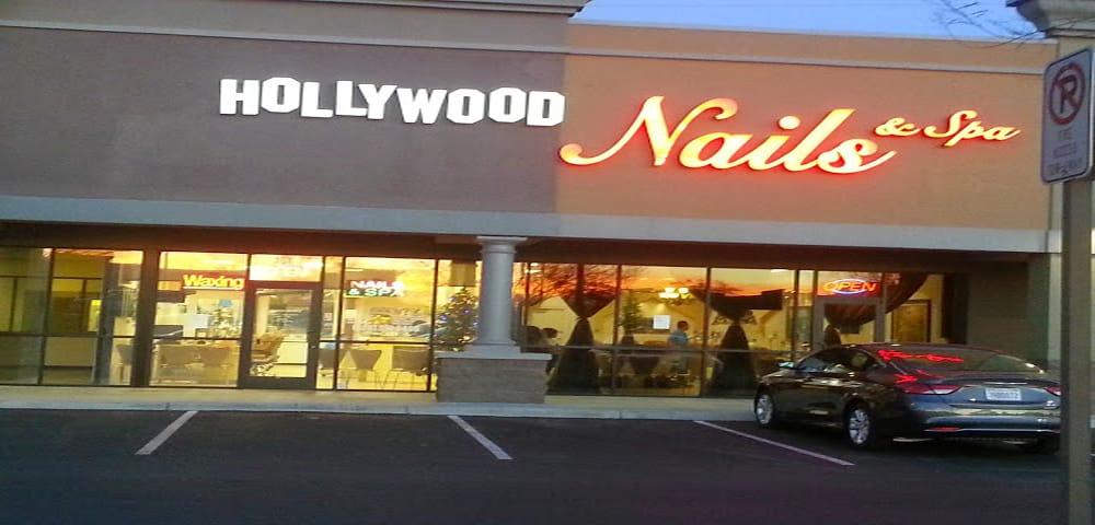 Hollywood nails spa 32 photos nail salons tucson for 24 hour nail salon in atlanta ga