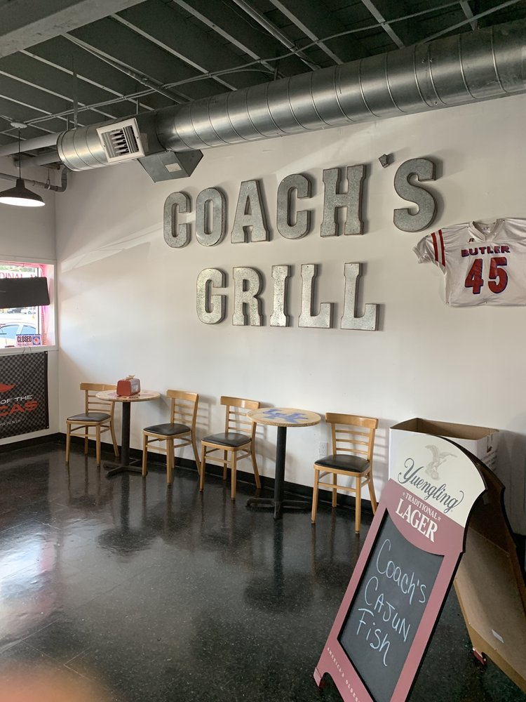 Coaches Grill: 7325 St Andrews Church Rd, Louisville, KY