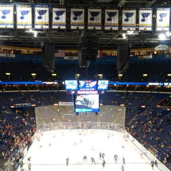 Seating view for Scottrade Center Section 107 Row H Seat 9