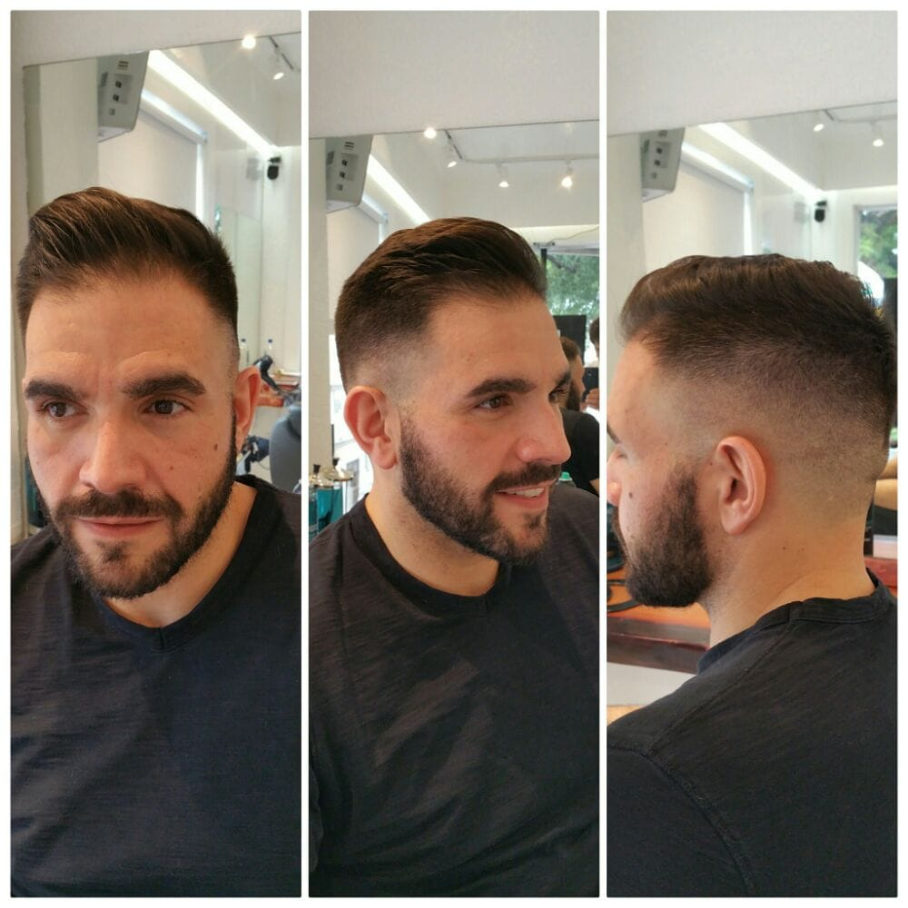 Men Haircut By Diego Quint At Quattro Hair Salon South Beach Yelp