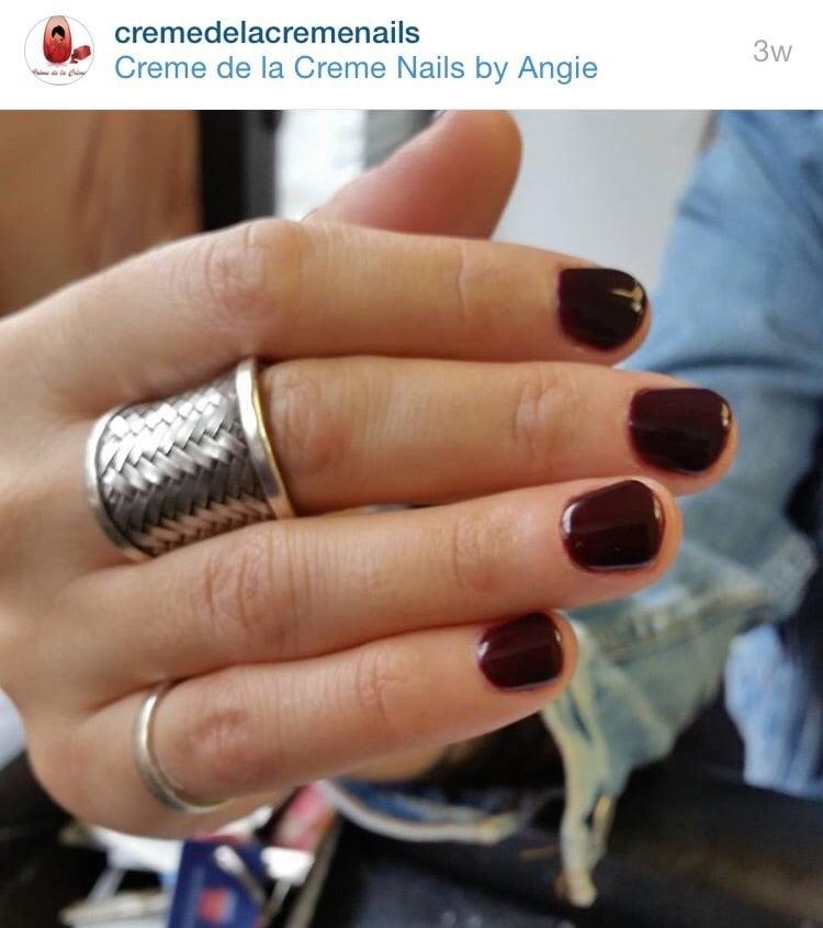 Creme de La Creme Nails By Angie: 4413 Broadway, New York, NY