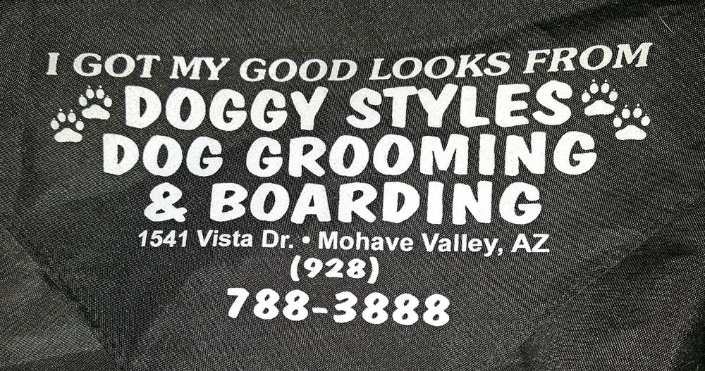 Doggy Styles Dog Grooming & Pet Boarding: 1541 Vista Dr, Mohave Valley, AZ