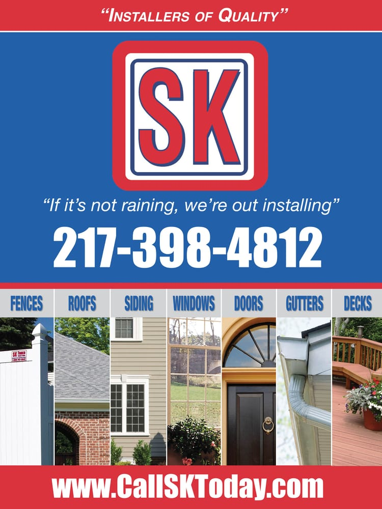 Sk Exteriors Roofing 305 Tiffany Ct Champaign Il Phone Number Yelp
