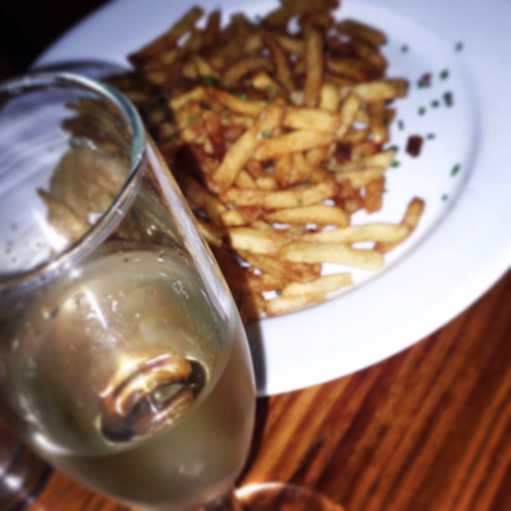 Champagne and fries - Yelp