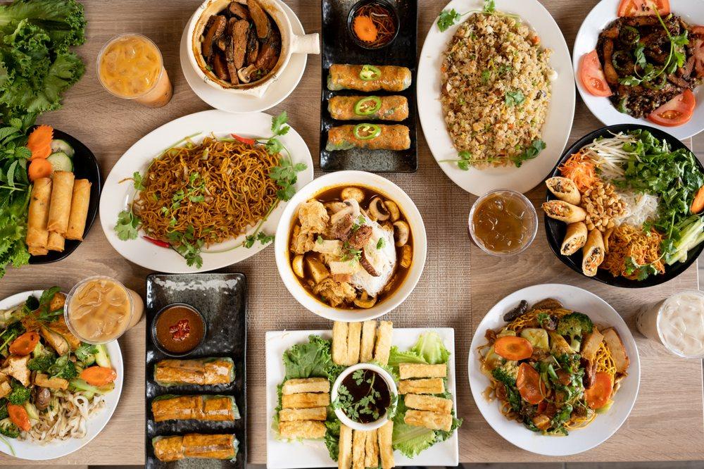 Happy Buddha Kitchen: 5551 Rosemead Blvd, Temple City, CA