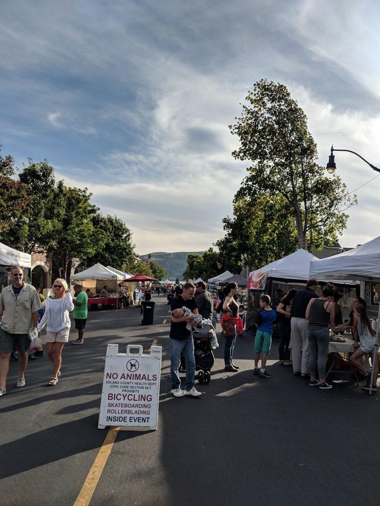 Benicia Farmers' Market: 90 1st St, Benicia, CA