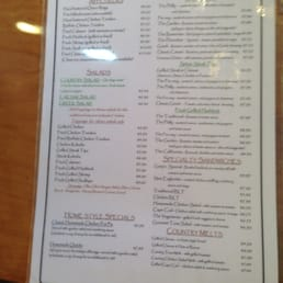 Photo Of Hollis Country Kitchen Nh United States Lunch Menu 1