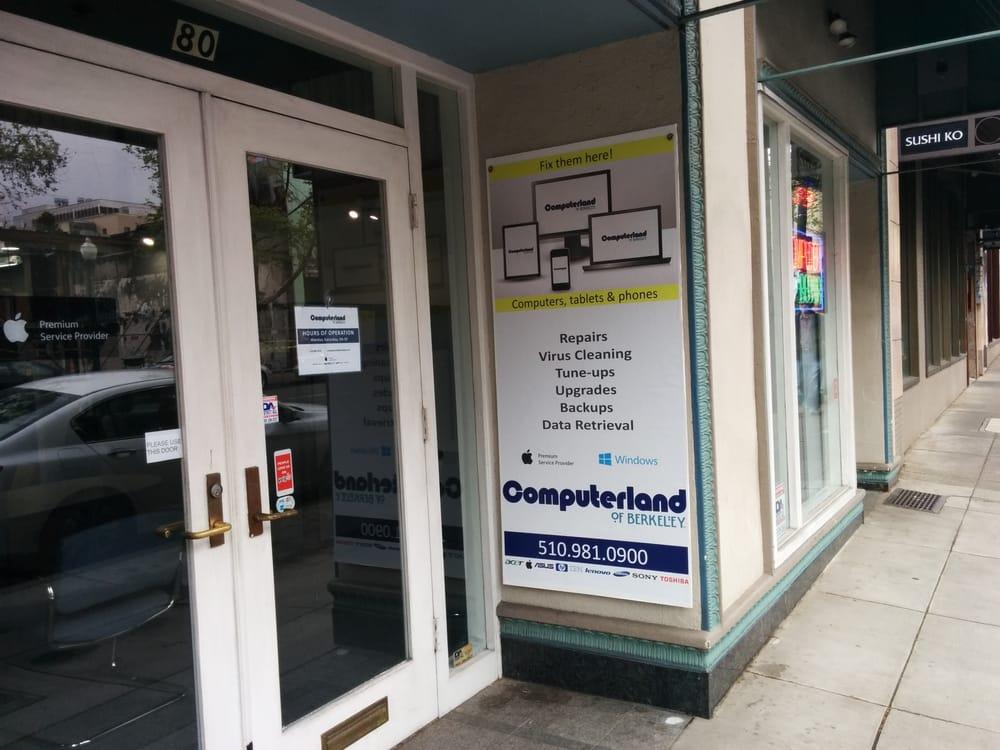 Computerland of Berkeley: 80 Shattuck Sq, Berkeley, CA