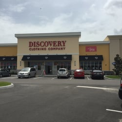Discover clothing store