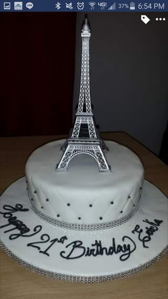 Eiffel Tower Birthday Cake Yelp