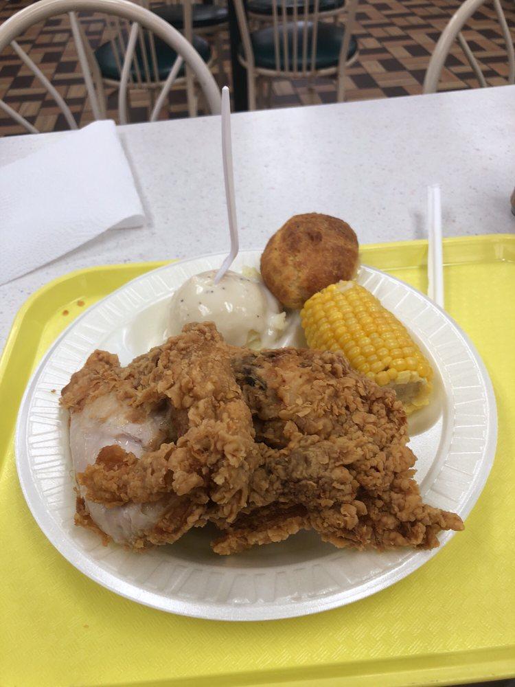 Julio's Market Chicken & Fish: 803 E Tyler St, Athens, TX