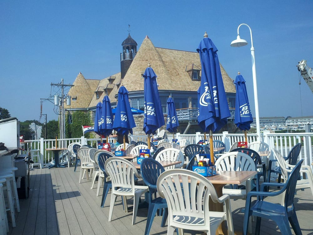 The Deck Was A Great Place To Sit And Enjoy Sea Breezes