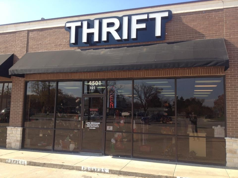 Life message thrift thrift stores 4501 rowlett rd for Jewelry consignment shops near me