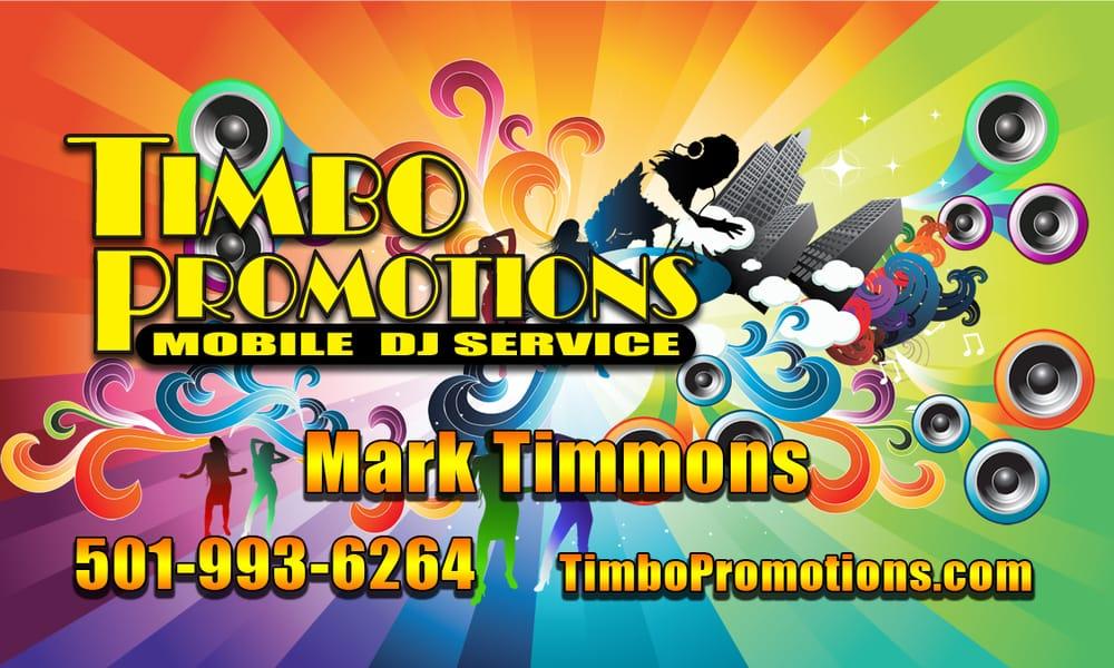 Timbo Promotions Mobile Dj: 2701 Mac Arthur Dr, North Little Rock, AR