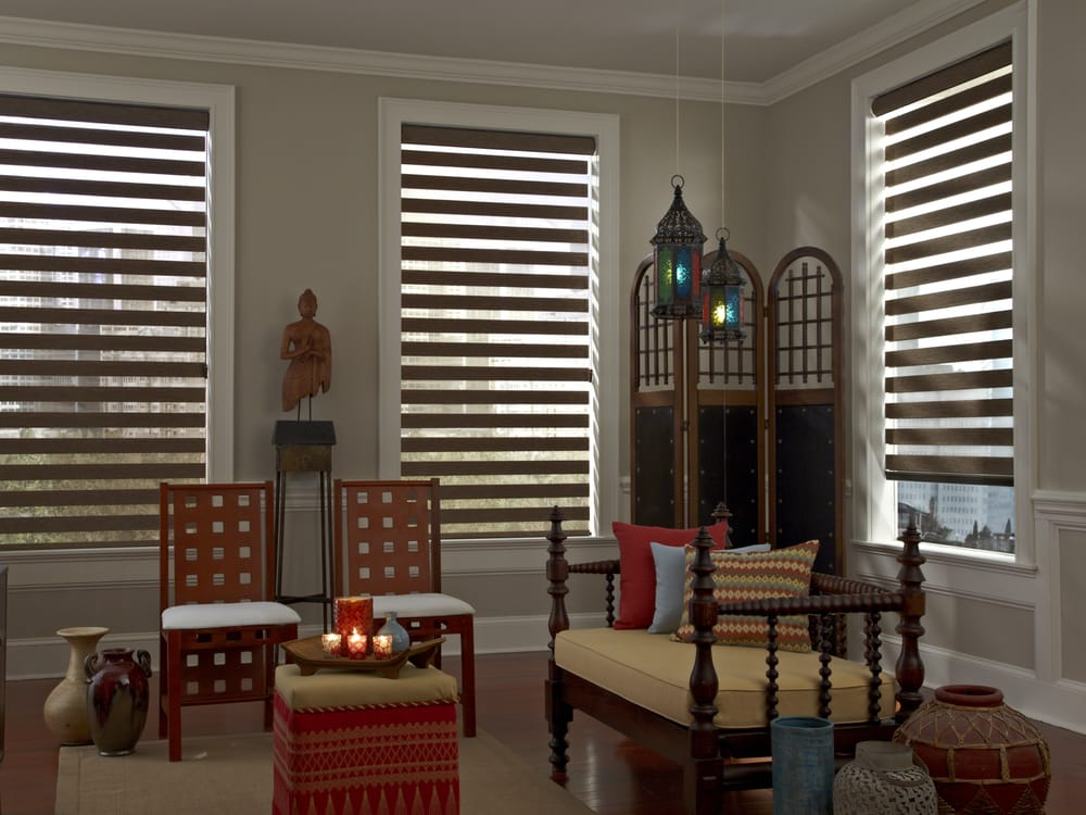 Louvers window fashions 33 photos curtains blinds Latest window treatments