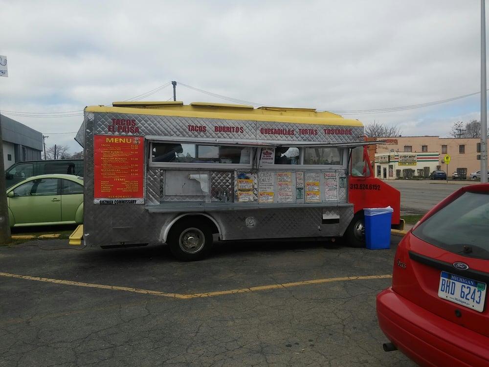 El Paisa Taqueria Truck: Vernor Hwy And Lansing St, Detroit, MI