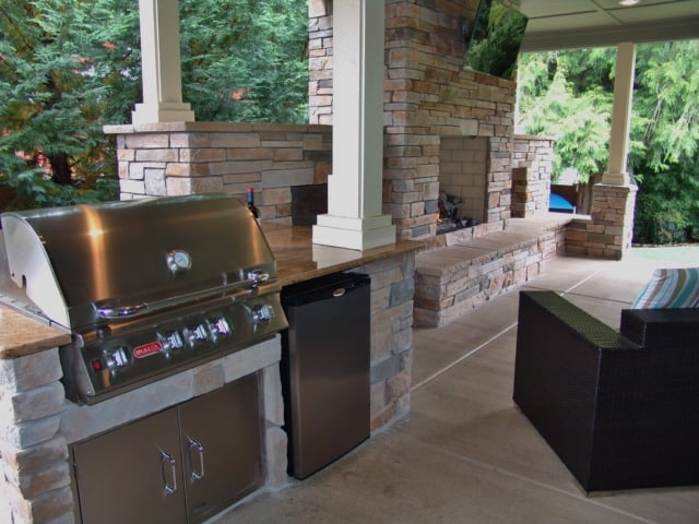 Outdoor Living Outdoor Fireplace Outdoor Kitchen