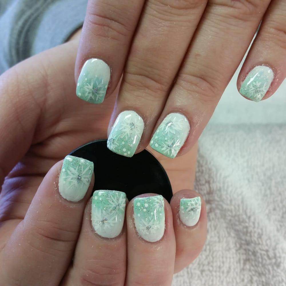 Amber Nails