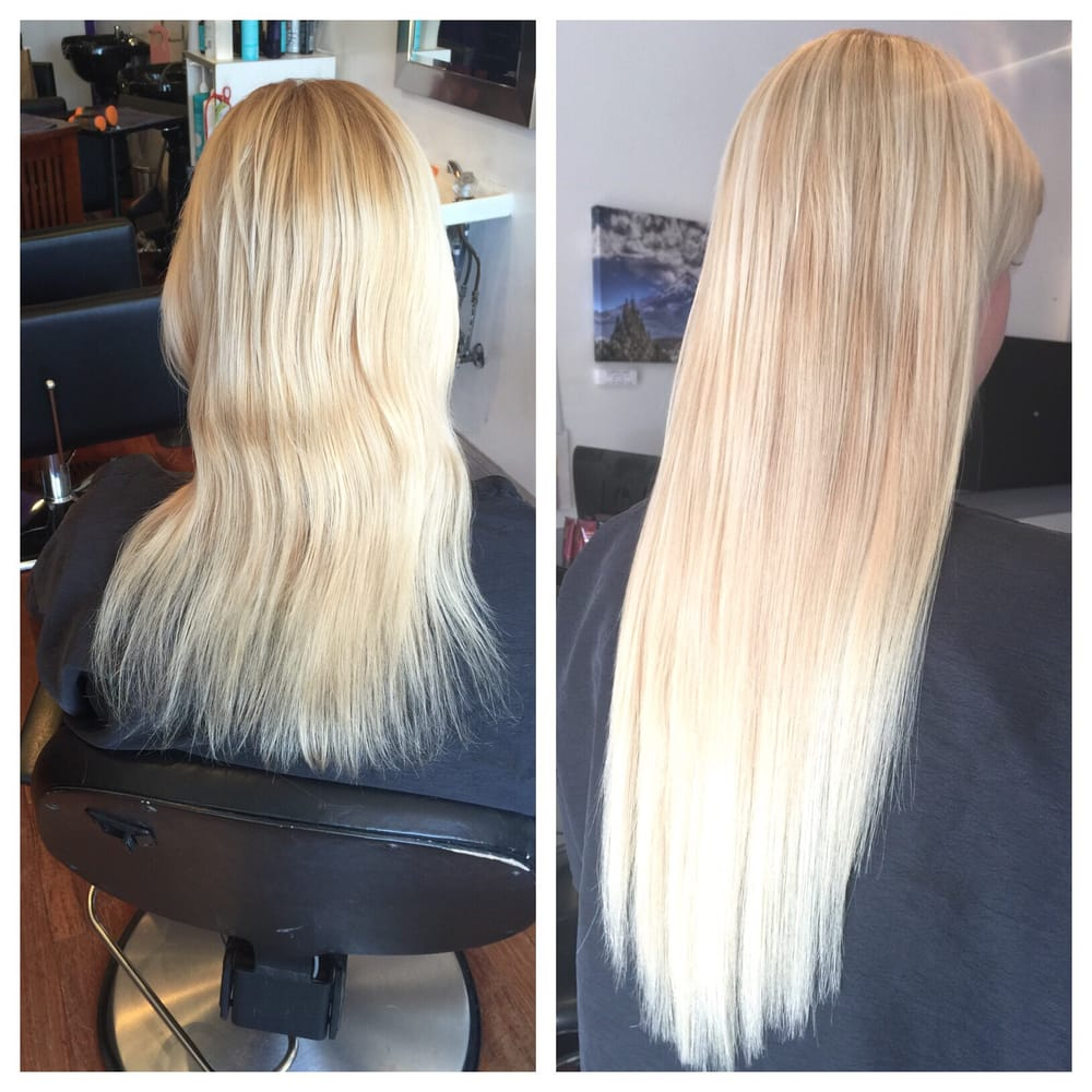 Micro Bead Hair Extensions Before And After Yelp
