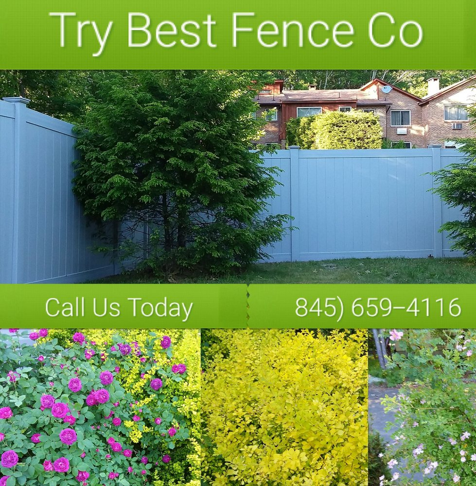 Try Best Fence: 64 Shuart Rd, Airmont, NY