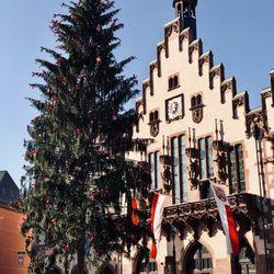 Weihnachtsbaum Frankfurt.Weihnachtsbaum Auf Dem Römer 13 Fotos Sehenswürdigkeiten