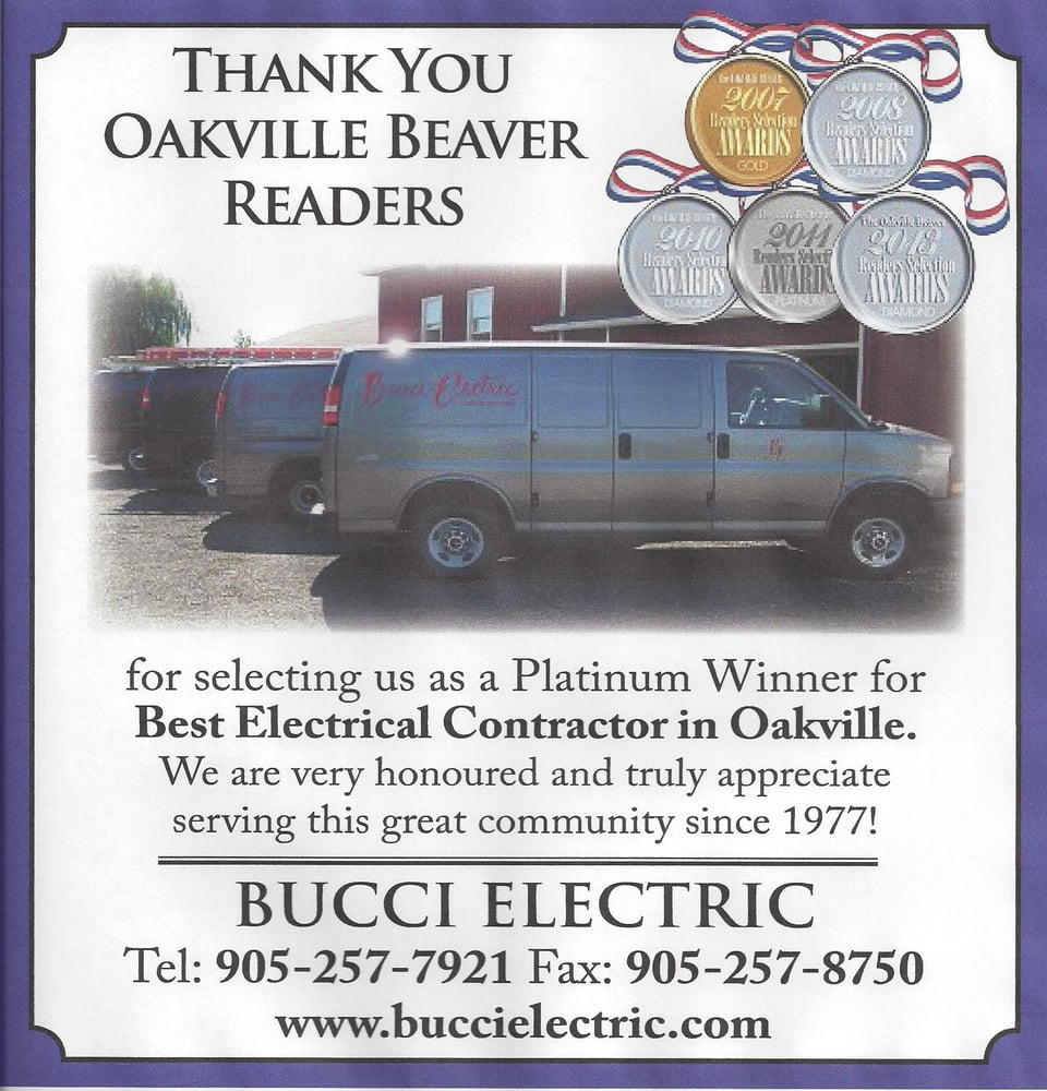 Bucci Electric: 3480 9th Line, Oakville, ON