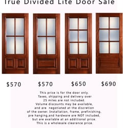 Photo Of All American Doors   Houston, TX, United States. My Price To