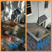... Photo Of NJ Four Seasons Gutter Cleaning   Paterson, NJ, United States.  Gutter ...