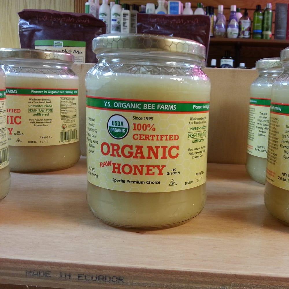 Organic Raw Honey - Yelp