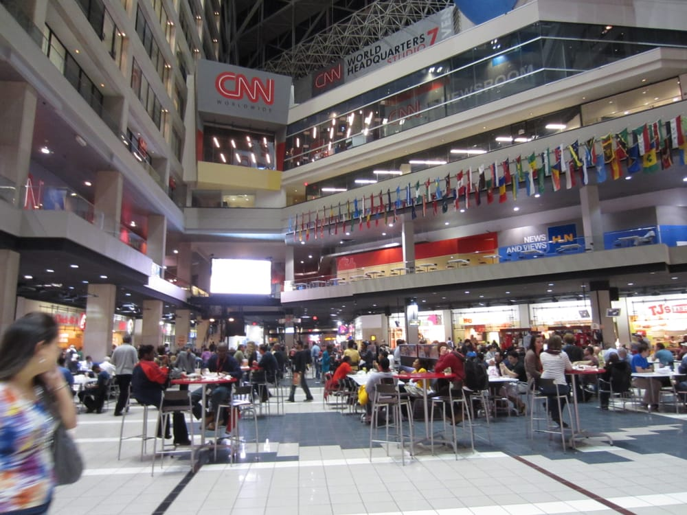Restaurants In Cnn Center Food Court