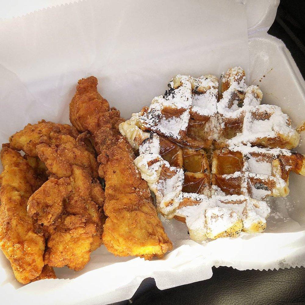 Cheeks Chicken & Waffles