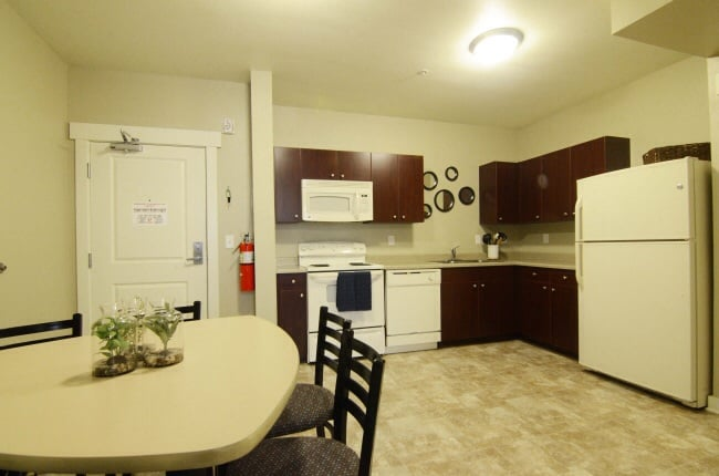 Full Apartment Style Kitchen in Each Unit (Microwave, Dishwasher ...
