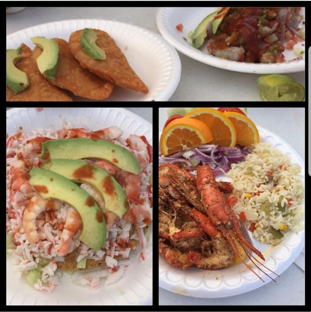 Mariscos El Rey Estilo Nayarit: 7500 S Broadway, Los Angeles, CA