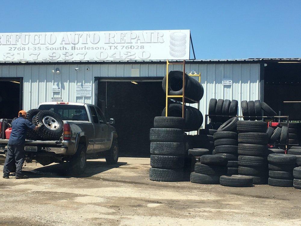 Refugio Auto Repair & Tires: 2768 S Interstate 35 W, Burleson, TX