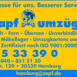 zapf umz ge get quote movers gro mannstr 129 rothenburgsort hamburg germany phone. Black Bedroom Furniture Sets. Home Design Ideas
