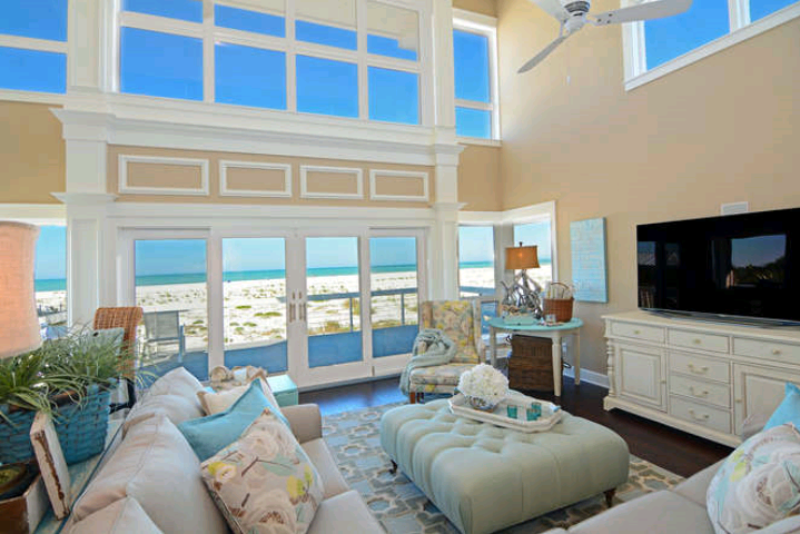 The great room of a client s home in Florida Yelp
