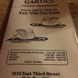 mandarin garden restaurant 10 reviews american new 1013 e 3rd st jackson ga