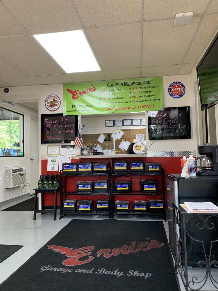 Ernie's Garage, Body Shop  & Towing: 514 Ash St, Elsmere, KY