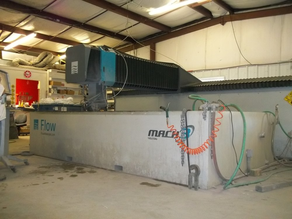 Dynamic Head (Limited 5 Axis) MACH3 FLOW Waterjet with 6 5 foot x 13